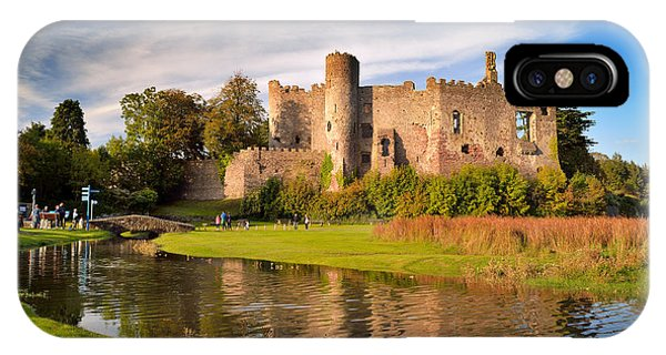 Laugharne Castle 1 IPhone Case