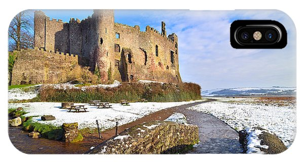 Laugharne Castle 2 IPhone Case
