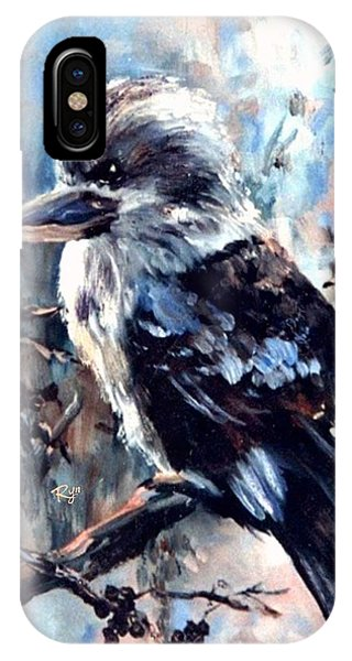 Laughing Kookaburra IPhone Case