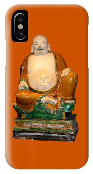 Laughing Monk IPhone Case