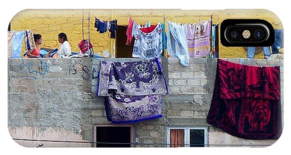 Laundry In Guanajuato IPhone Case