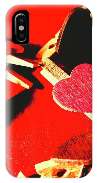 Red Heart iPhone Case - Laundry Love by Jorgo Photography - Wall Art Gallery