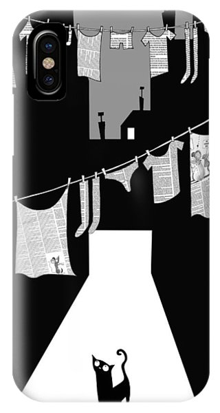 Andrew iPhone Case - Laundry by Andrew Hitchen