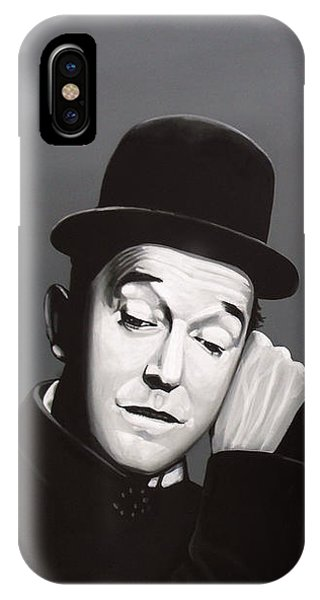 Cuckoo iPhone Case - Laurel And Hardy by Paul Meijering