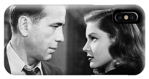 Lauren Bacall Humphrey Bogart Film Noir Classic The Big Sleep 2 1945-2015 IPhone Case