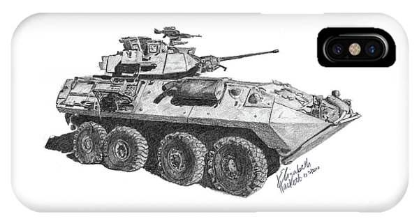 IPhone Case featuring the painting Lav-25 by Betsy Hackett