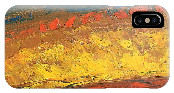 Lava Flow IPhone Case