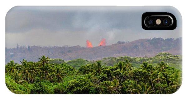 Lava Fountain IPhone Case