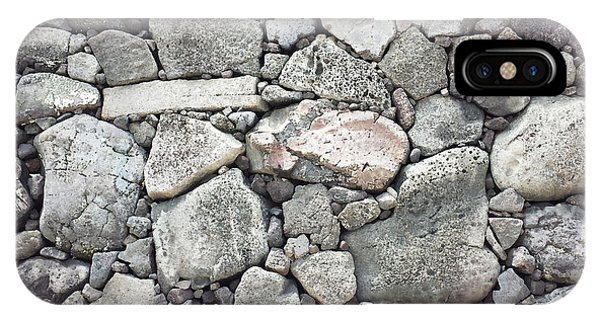 Lava Rock Wall 3 IPhone Case