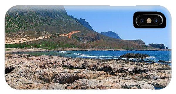 Lava Rocks Of Balos IPhone Case