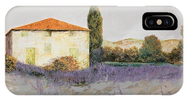 Lavender iPhone Case - Lavanda Grassa by Guido Borelli