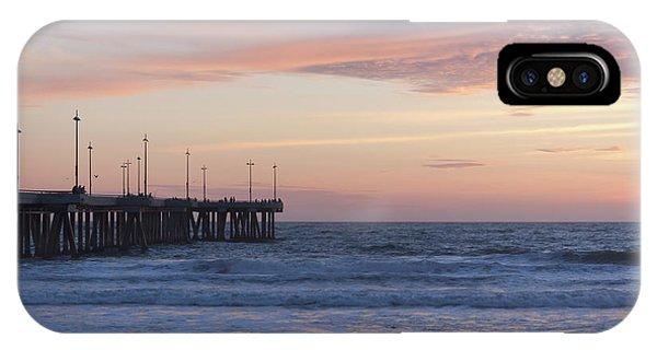 Venice Beach iPhone Case - Lavander Waters by Ana V Ramirez