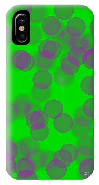 Lavender Bokeh IPhone Case