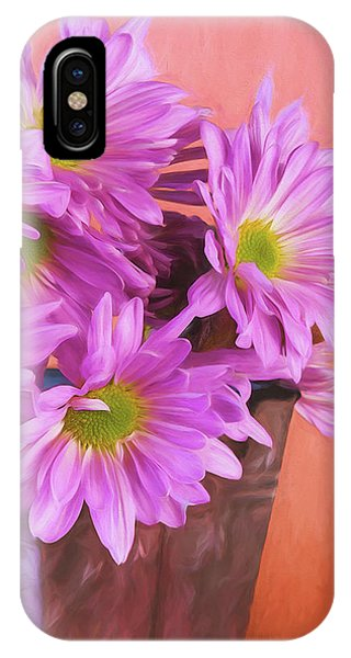 Daisy iPhone Case - Lavender Daisies by Tom Mc Nemar