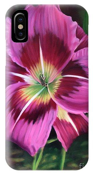 Lavender Daylily IPhone Case