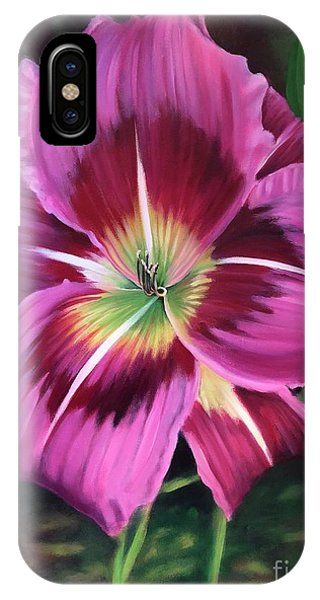 Lavender Daylily IPhone Case