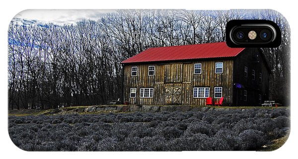 Lavender Farm IPhone Case
