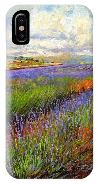 Lavender Field IPhone Case