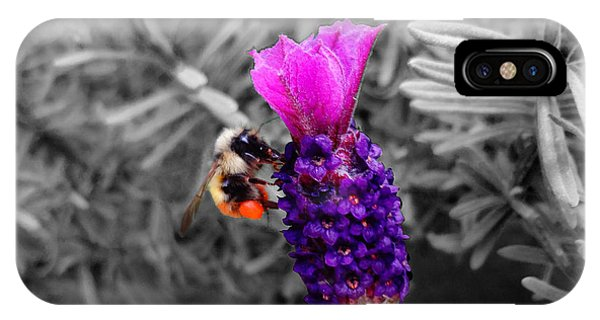 Lavender Harvest IPhone Case