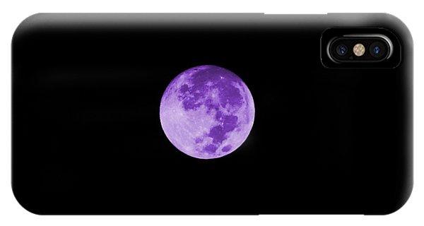 Lavender Moon IPhone Case