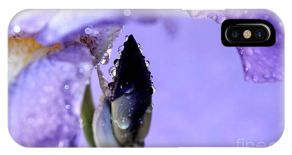 Alive iPhone Case - Lavender Rain by Krissy Katsimbras