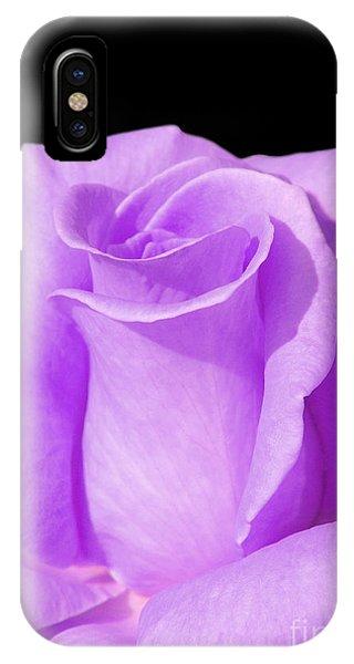 Lavender Rose IPhone Case