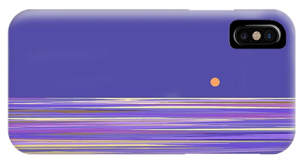 Lavender Sea IPhone Case
