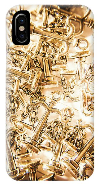 Trial iPhone Case - Law And Justice Abstract by Jorgo Photography - Wall Art Gallery