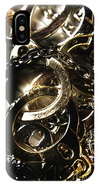 Necklace iPhone Case - Law And Order by Jorgo Photography - Wall Art Gallery