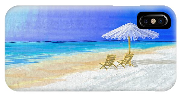 Lawn Chairs In Paradise IPhone Case