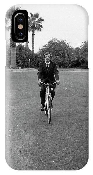 Lawyer On A Bicycle, 1971 IPhone Case