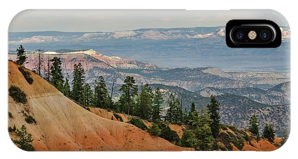 IPhone Case featuring the photograph Layers And Light At Bryce Canyon by Gaelyn Olmsted