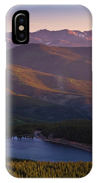 IPhone Case featuring the photograph Layers by John De Bord