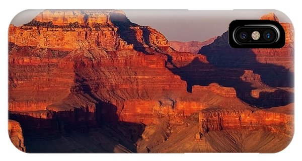 Layers Of Red Rock IPhone Case