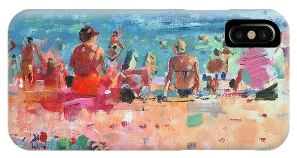 Sunbather iPhone Case - Lazy Sunny Afternoon by Peter Graham
