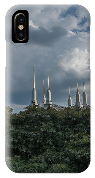 Lds Storm Clouds IPhone Case