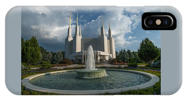 Lds Water Fountain  IPhone Case