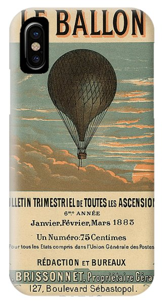 Le Balloon Journal IPhone Case