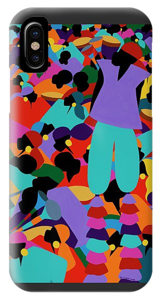 iPhone Case - Le Carnaval by Synthia SAINT JAMES