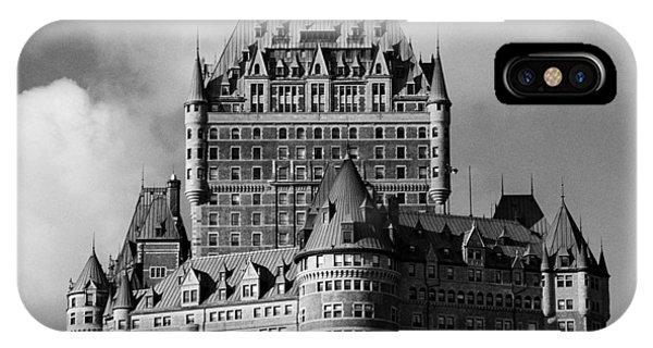 Le Chateau Frontenac - Quebec City IPhone Case