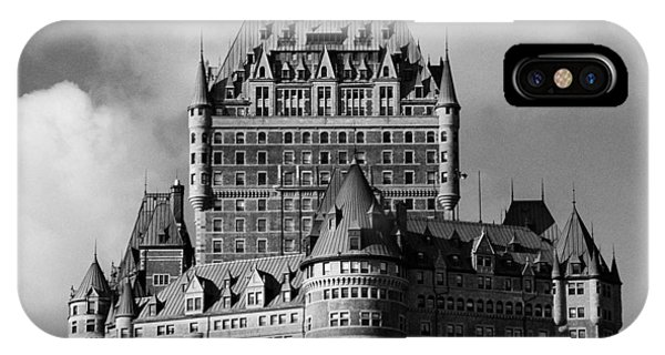 Le Chateau Frontenac - Quebec City IPhone Case