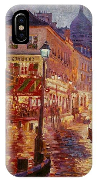 Le Consulate Montmartre IPhone Case