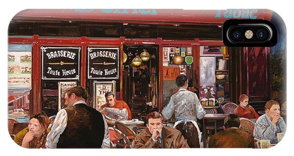 Paris iPhone Case - Le Mani In Bocca by Guido Borelli