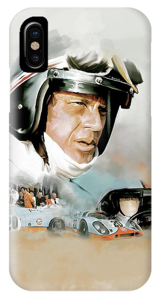Le Mans IIi Steve Mcqueen IPhone Case