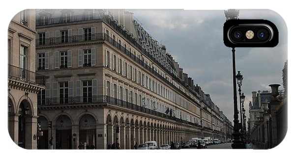 Le Meurice Hotel, Paris IPhone Case