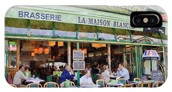 Le Paris Maison IPhone Case