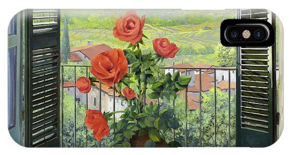 Italy iPhone Case - Le Persiane Sulla Valle by Guido Borelli