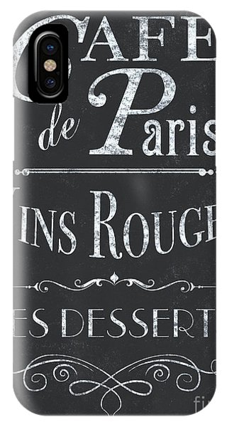 Paris iPhone Case - Le Petite Bistro 2 by Debbie DeWitt