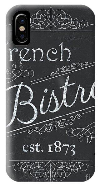 Paris iPhone Case - Le Petite Bistro 4 by Debbie DeWitt
