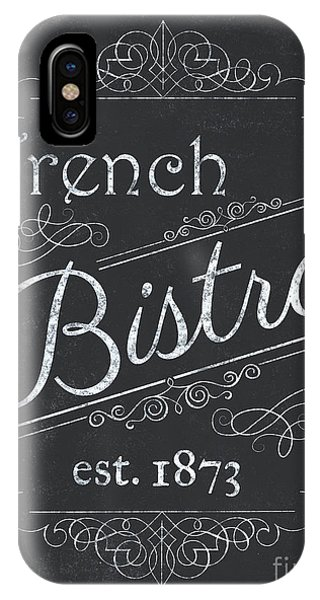 Paris iPhone Case - Le Petite Bistro 4 by Debbie DeWitt